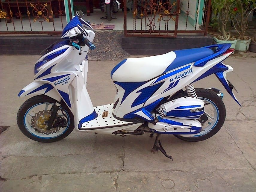 Top modifikasi motor honda beat 2015