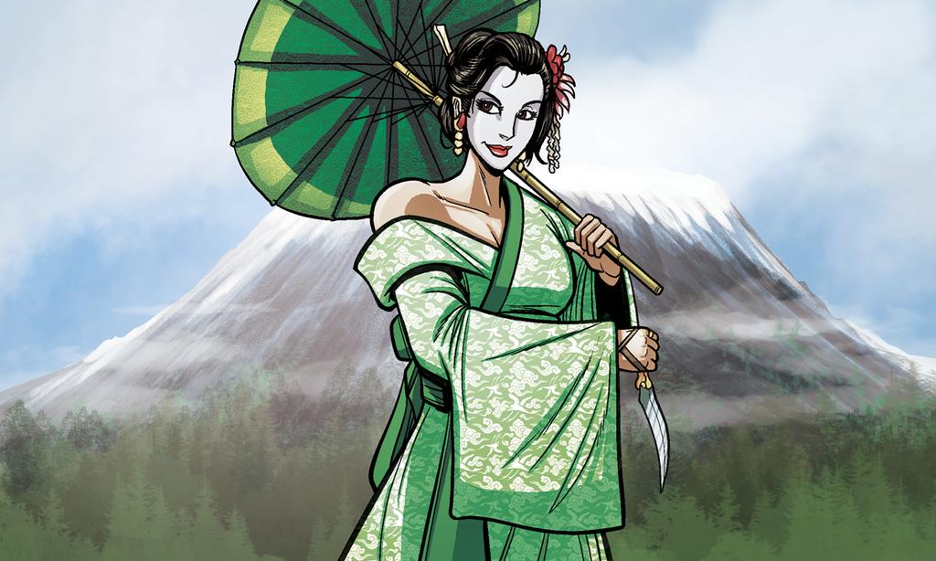 Divine Wind Geisha by self-replica