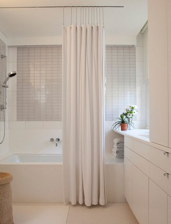 23 Elegant Bathroom Shower Curtain Ideas Photos Remodel And Brilliant Elegant Bathroom Shower Curtains Inspiration