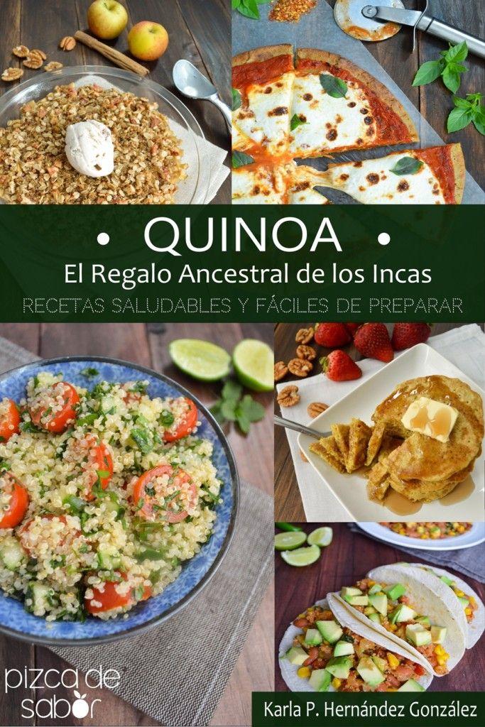 """Mi primer libro de cocina recetas de """"Quinoa, el regalo ancestral de los Incas"""" Recetas Saludables y Fáciles de Preparar - Pizca de Sabor"""