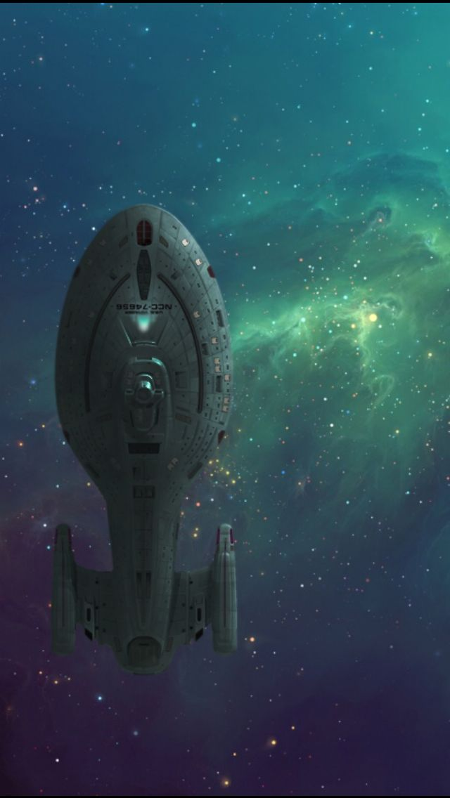 Uss Voyager Dap Of Universe Fiction Star Trek Wallpaper