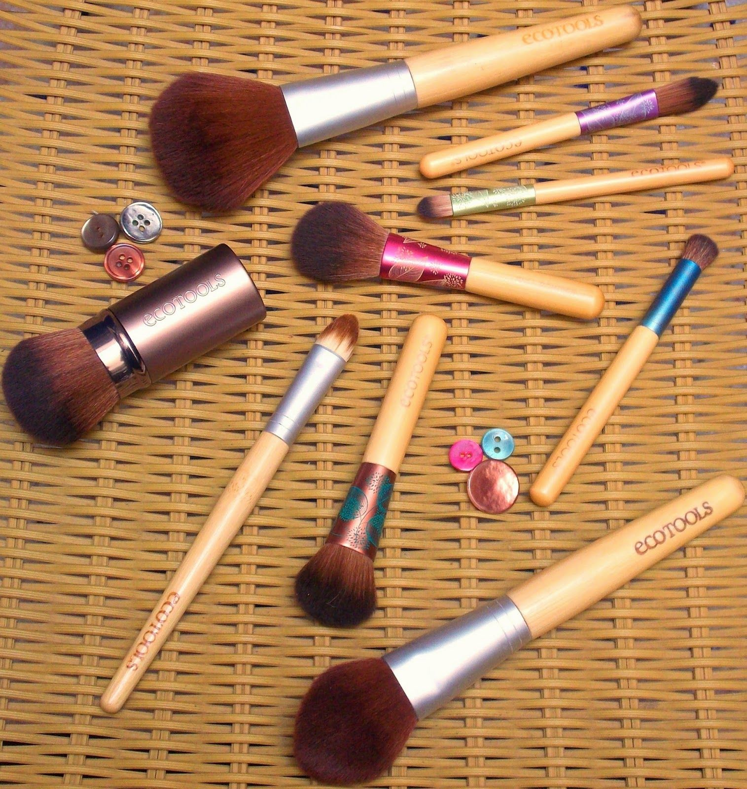 Beauty, Cruelty Free Beauty, Ecotools, make up brush