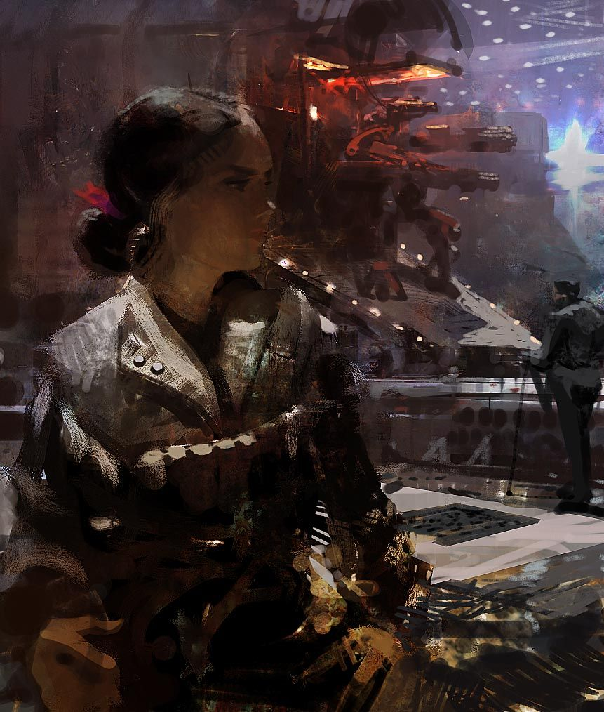Craig Mullins Craig Mullins Digital Art Illustration Badass Art