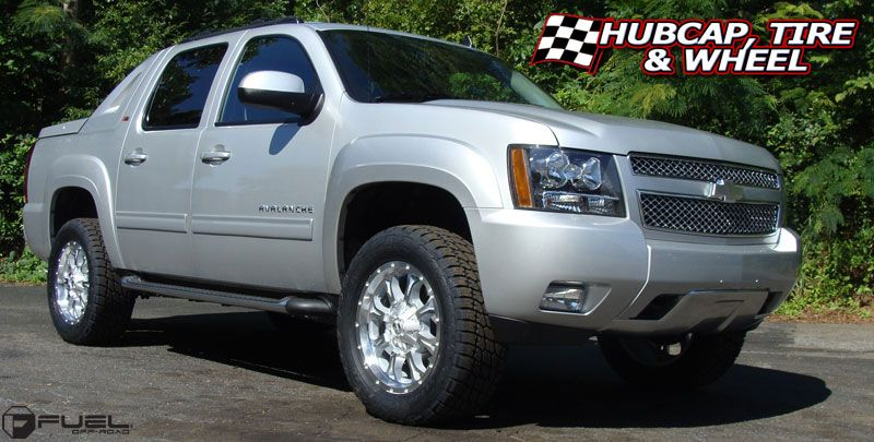 Fuel D517 Krank Wheels Rims Chevy Avalanche 2007 Chevy Avalanche Chevy