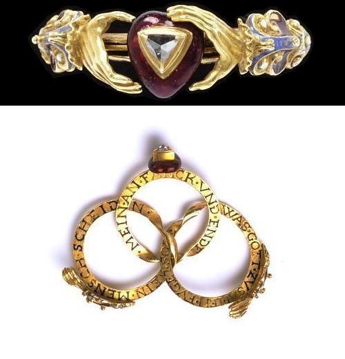 Interlocking Wedding Ring Made In Germany 1600 50 Via German
