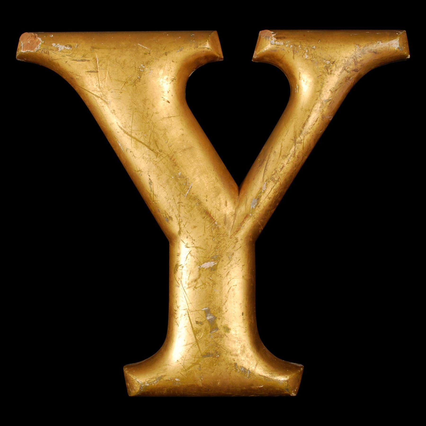 Large antique gold leaf letter y y pinterest antique gold large antique gold leaf letter y thecheapjerseys Gallery