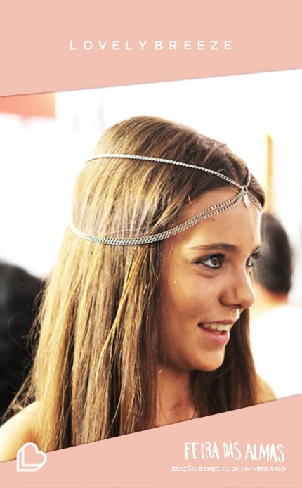 Lovely Breeze Hair Chain   Feira das Almas Edição Especial do 2ª Aniversário