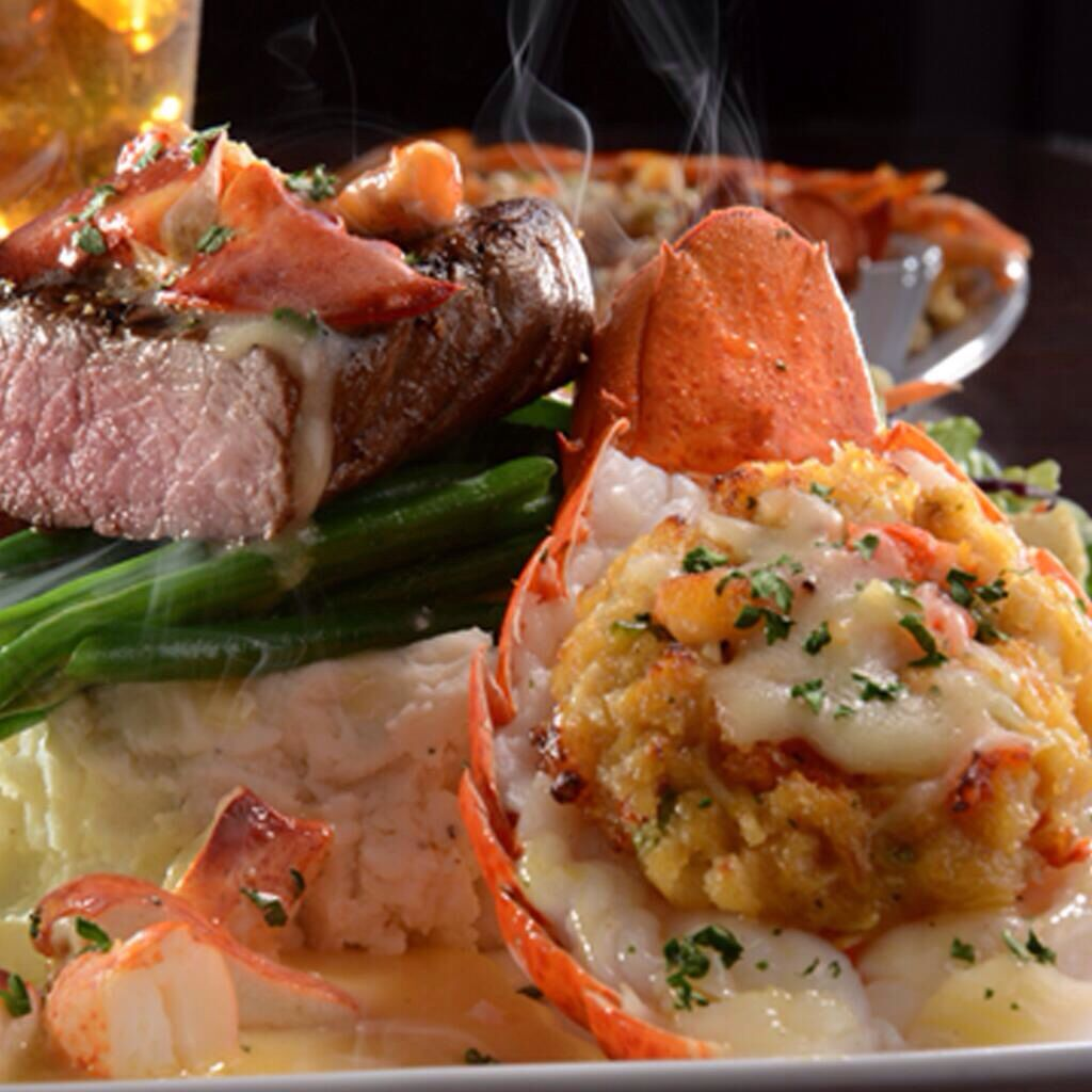 Steak and lobster tail. Red Lobster. (With images