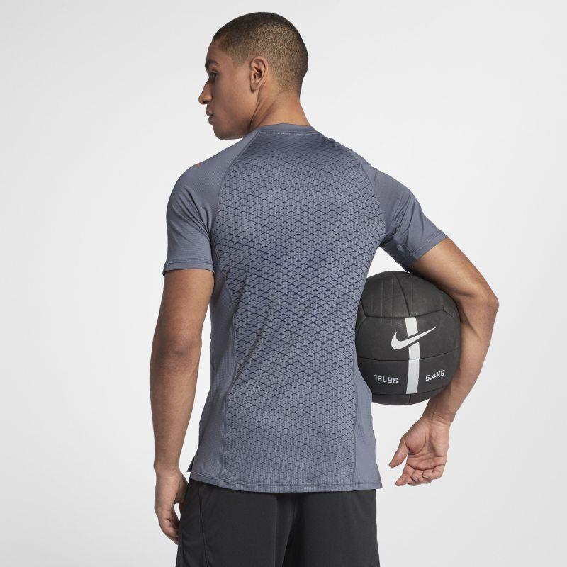 7cc562c6 Nike Pro HyperCool Men's Short-Sleeve Training Top - Grey | Products ...