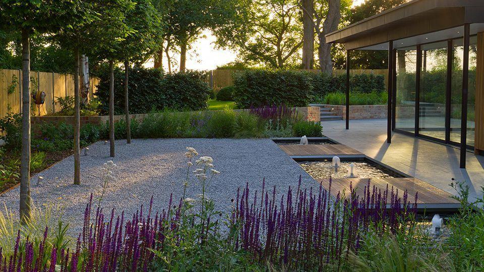 John Davies Landscape Created A Masterplan For A Two Property Cambridgeshire Project Comprising Of Two Similar Looking Garten Grundriss Haus Und Garten Garten
