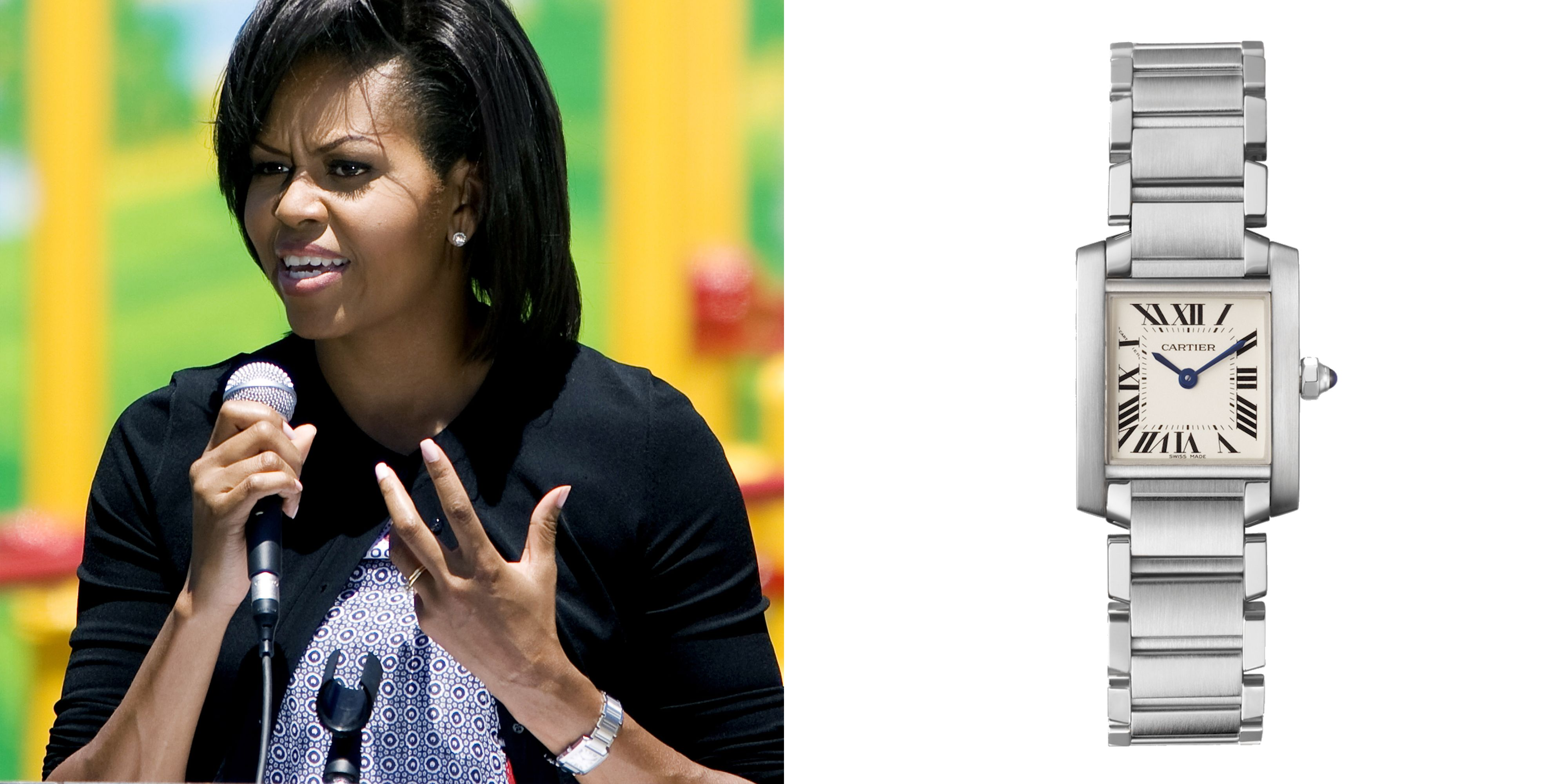 What celebrities 39 watches say about them cartier tank francaise cartier tank and cartier for Celebrity watches