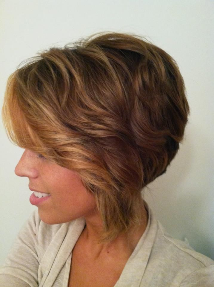 Horizontal Ombre for Short hair