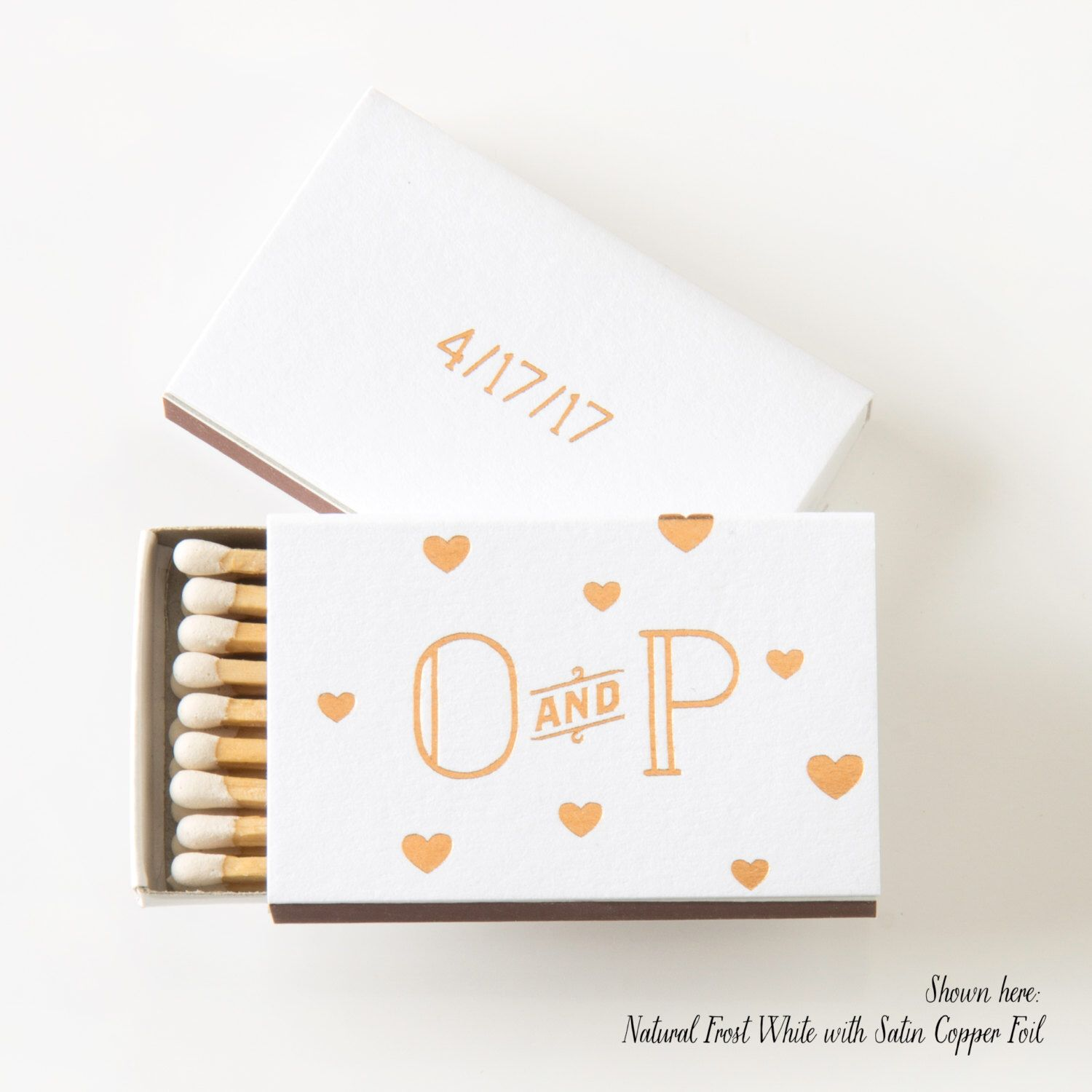 Personalized Matches Wedding Favors | Giftwedding.co