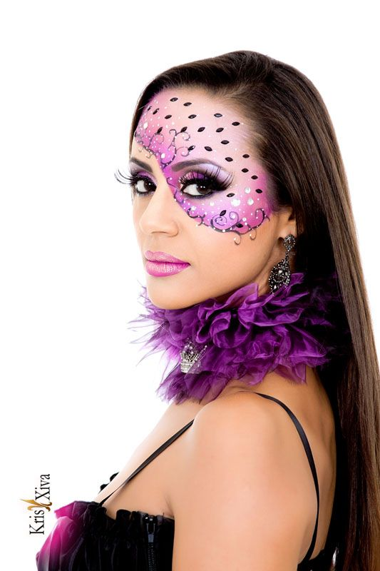 Maquiagem artística Kris Xiva