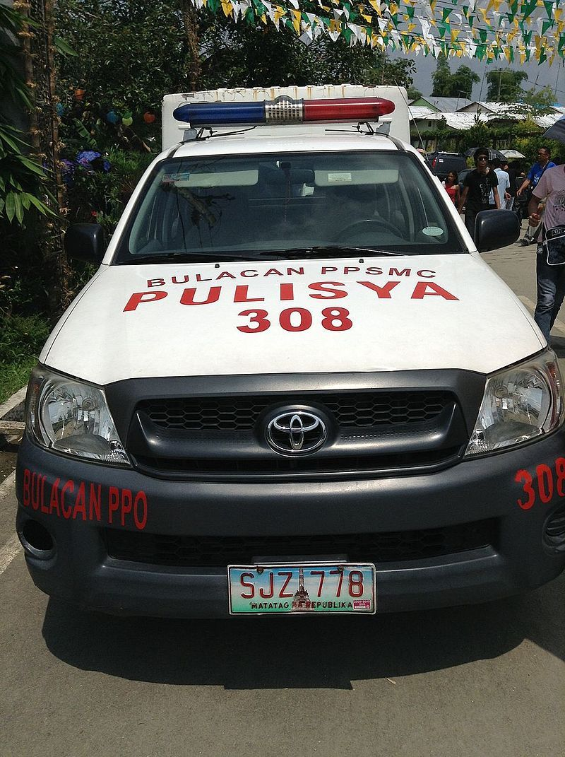 Toyota Hilux Pnp Truck Front View Police Cars By Country