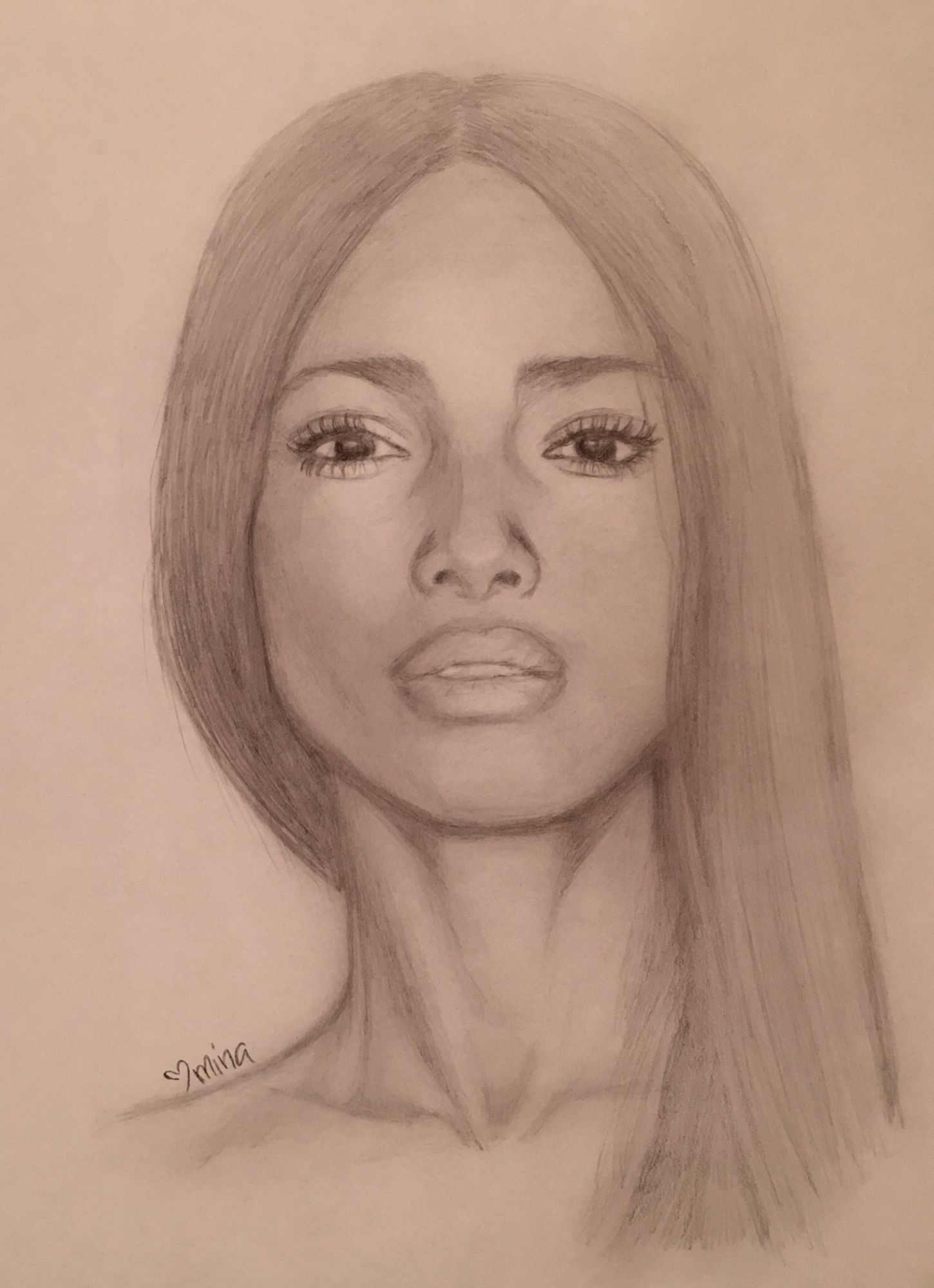 Pencil portrait graphite drawing sketch beautiful black woman jpg 1450x2000 african american female pencil sketches