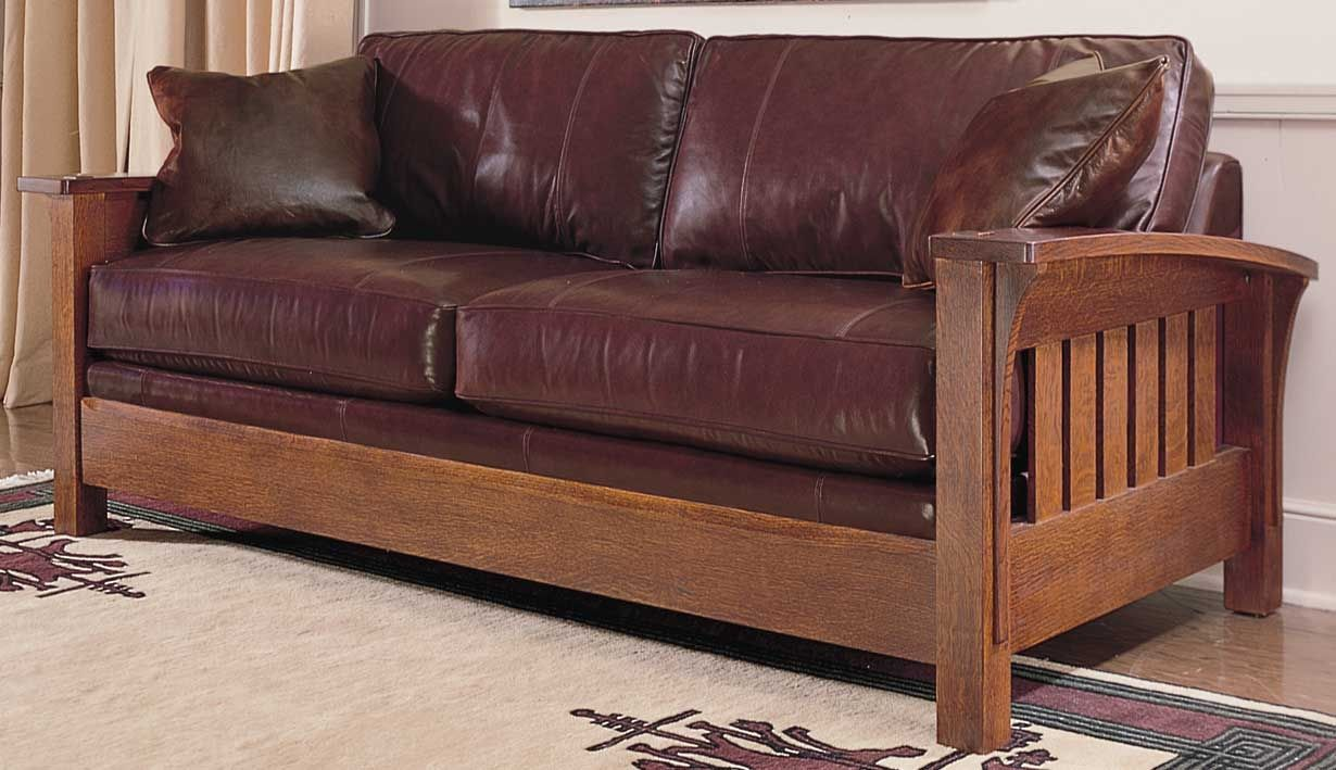 Stickley Mission Sofa Bed Cabinets Matttroy