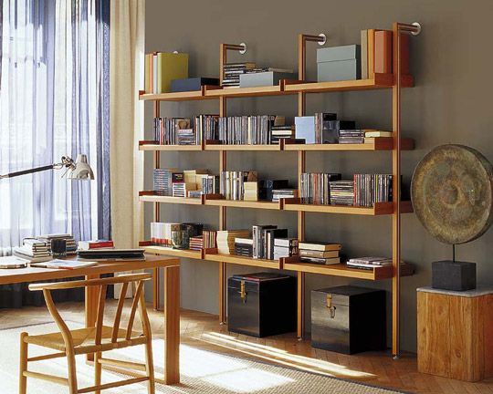 Salones con librer as decoraci n hogar ideas y cosas for Librerias para despacho decoracion