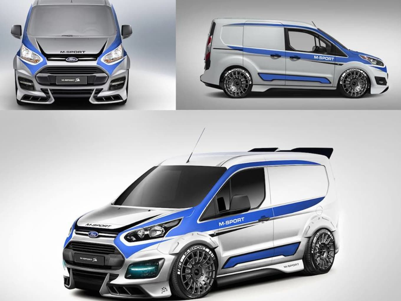 Ford Transit M Sport Connect Across The Uk Hartwell Vans