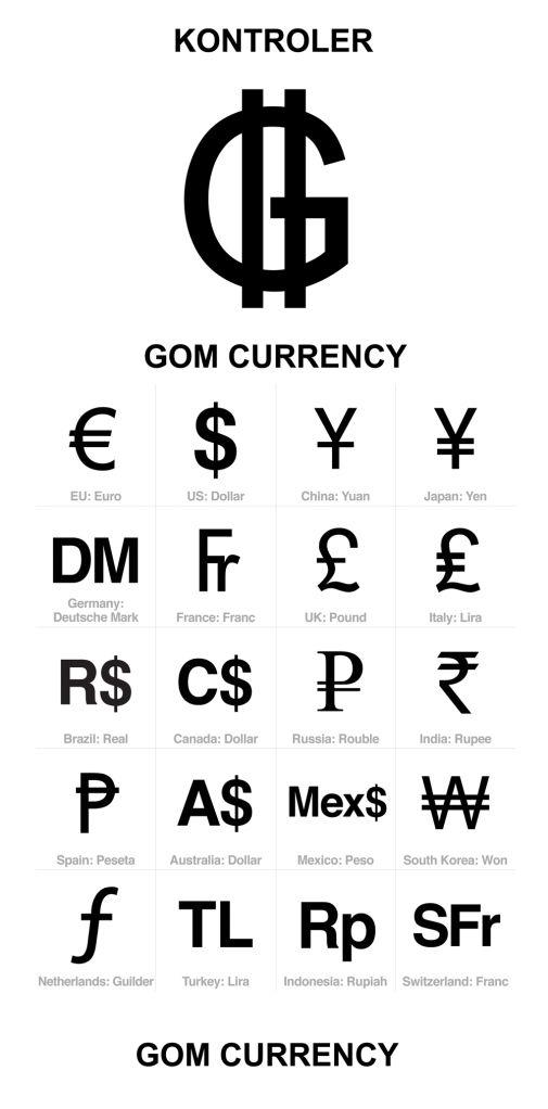 Gom Currencies Guaran Sign Pinterest