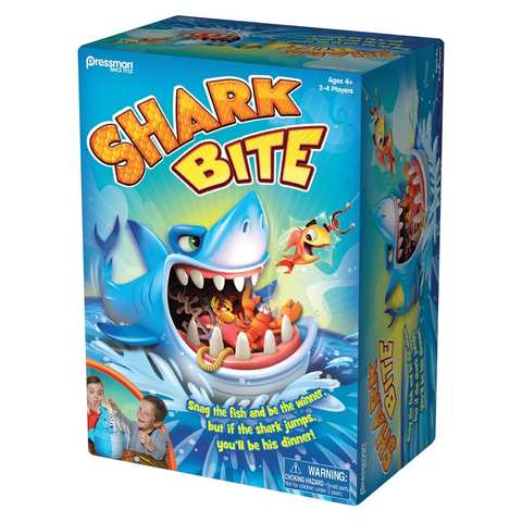 Shark Bite Shark bites, Family game night, Shark