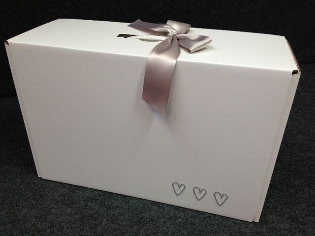 Diamante Heart - Wedding Dress Travel Box | Lovely things ...