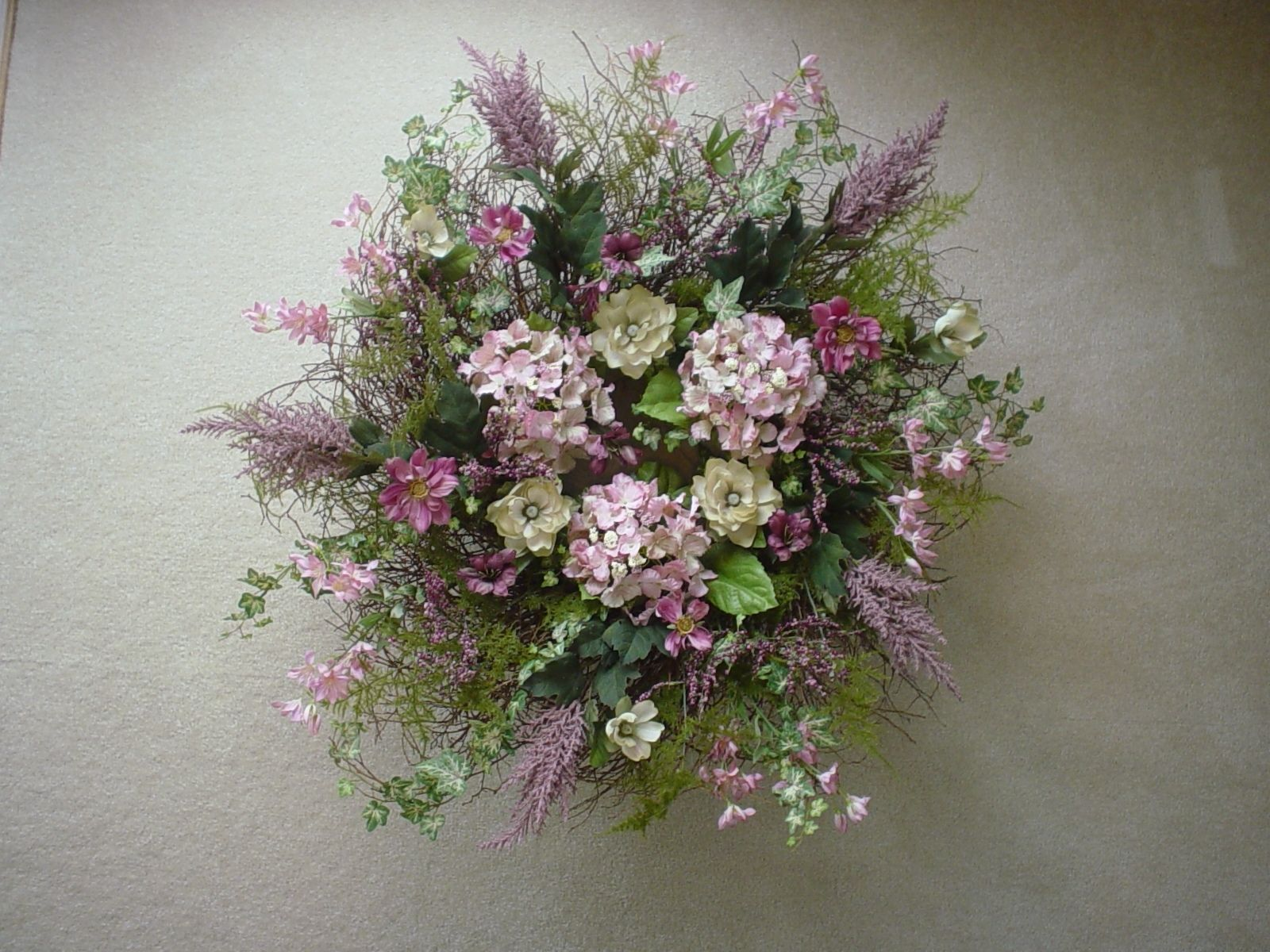 Fake Floral Arrangements For Home Beautiful Floral Wreaths Silk Floral Arrangements