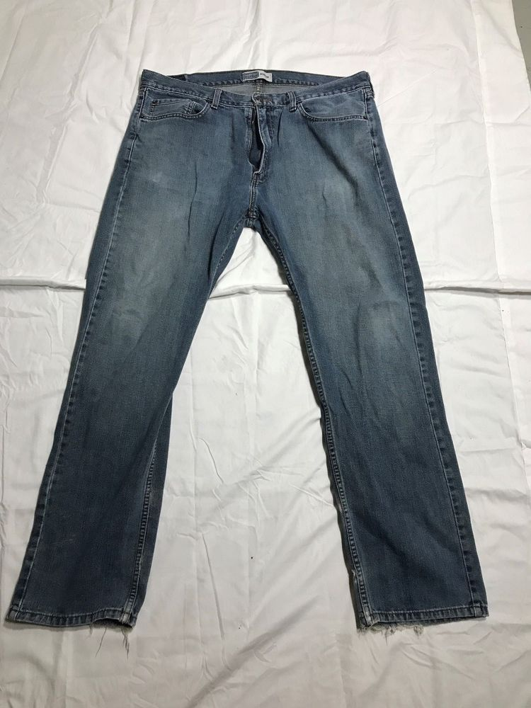 Levi Signature Jeans Mens Cotton Denim Faded Fashion Clothing
