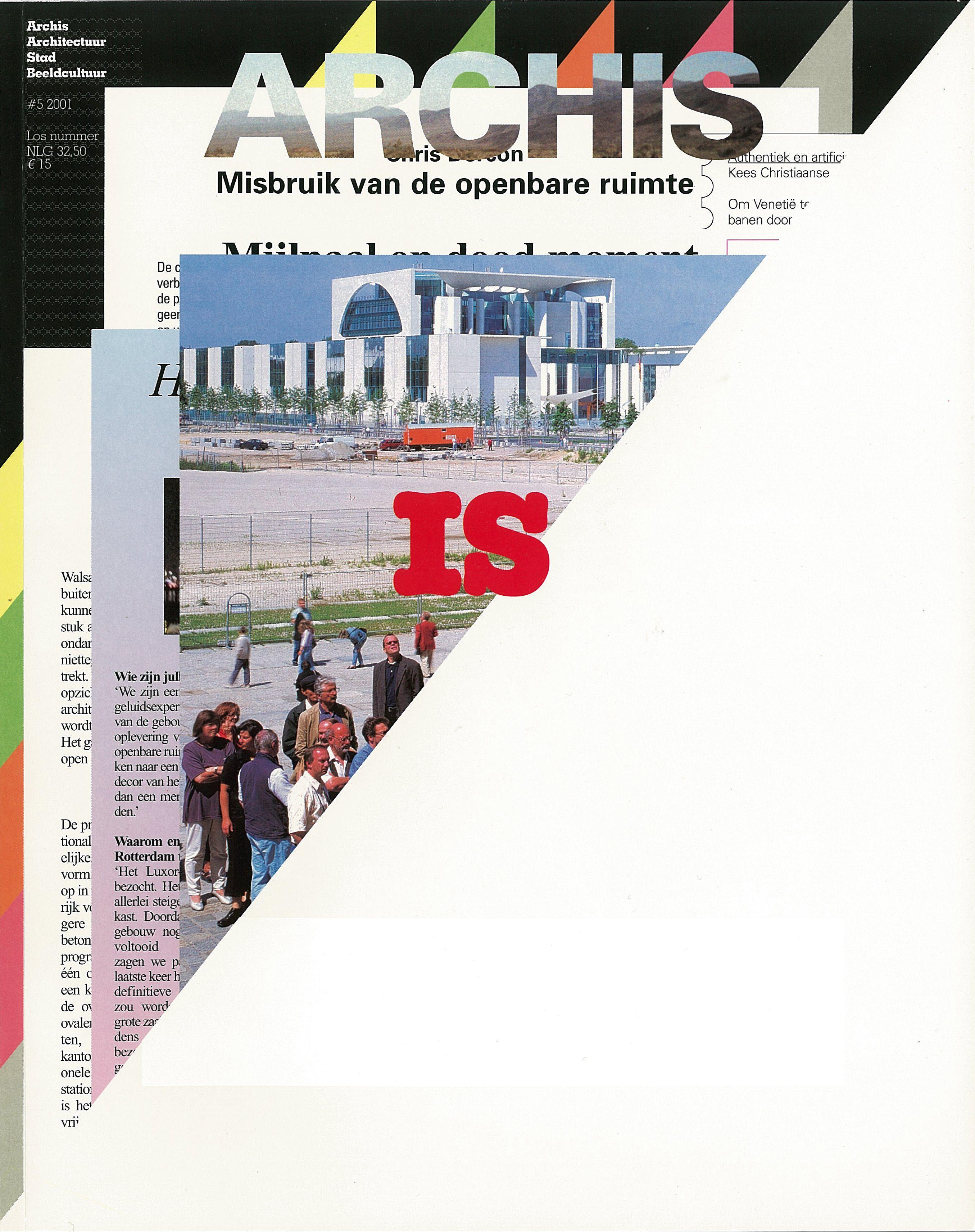 Maureen Mooren and Daniel van der Velden, Archis Magazine, 2001, Nr ...