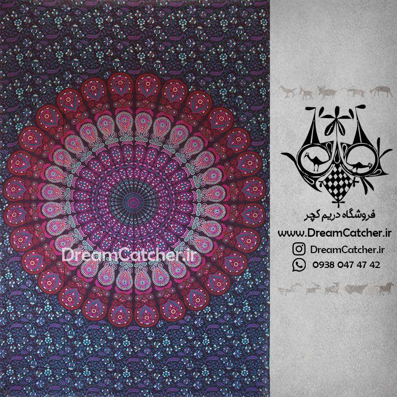 تپستری هندی بکدراپ هندی روتختی هندی دیوارکوب هندی دیوار آویز هندی فروش تپستری هندی فروشگاه دریم کچر فروشگا Indian Tapestry Tapestry Dream Catcher