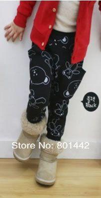 Photo of $ 453.42 | Cotton cute bear warm pants girls …