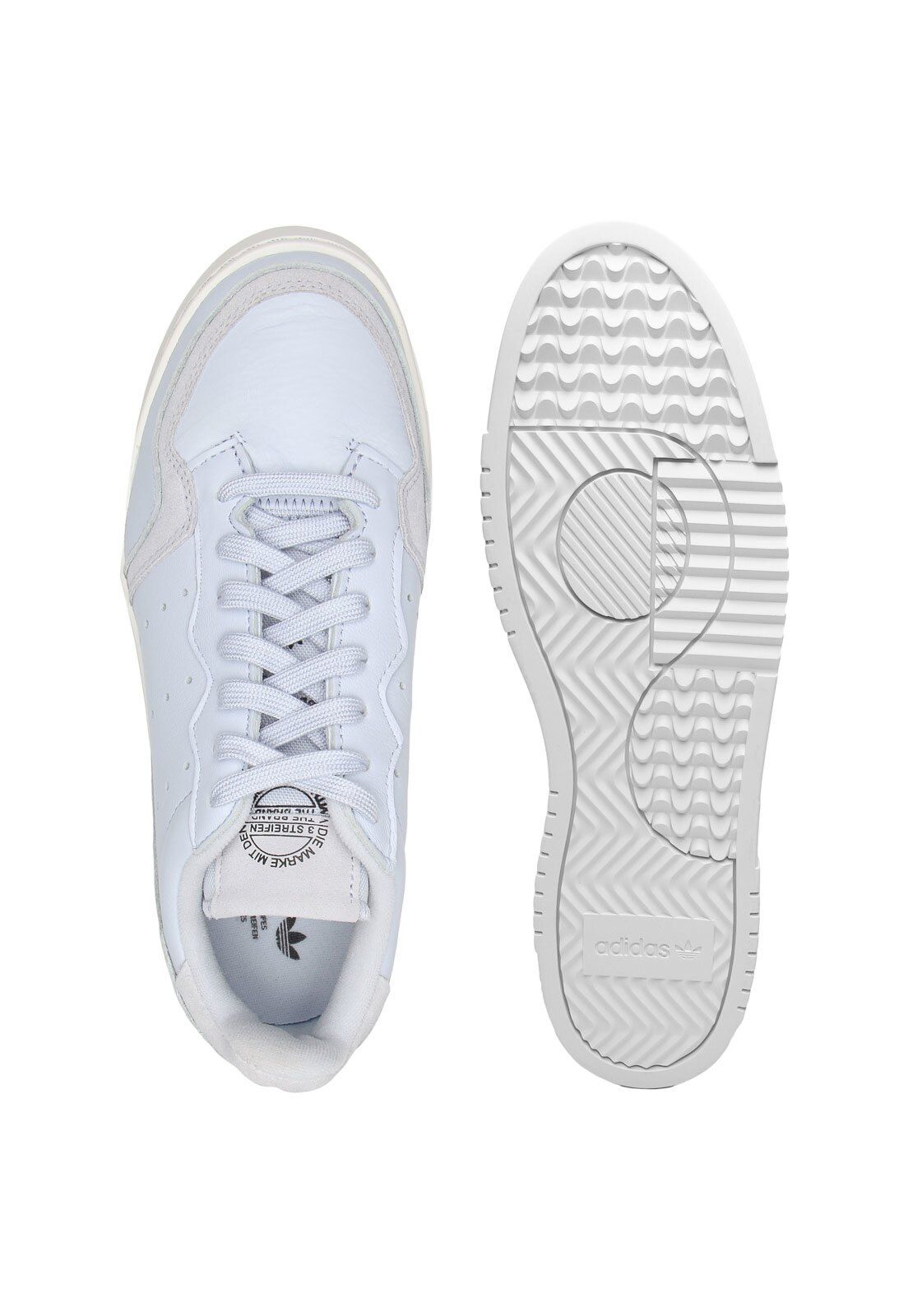 Tênis Couro adidas Originals Supercourt Branco | Tenis couro