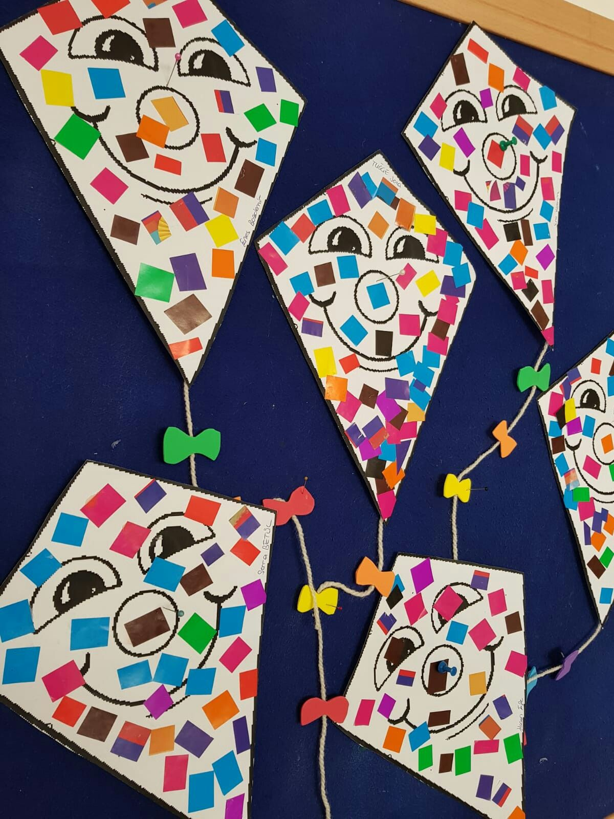 okul oncesi ucurtma sanat etkinligi
