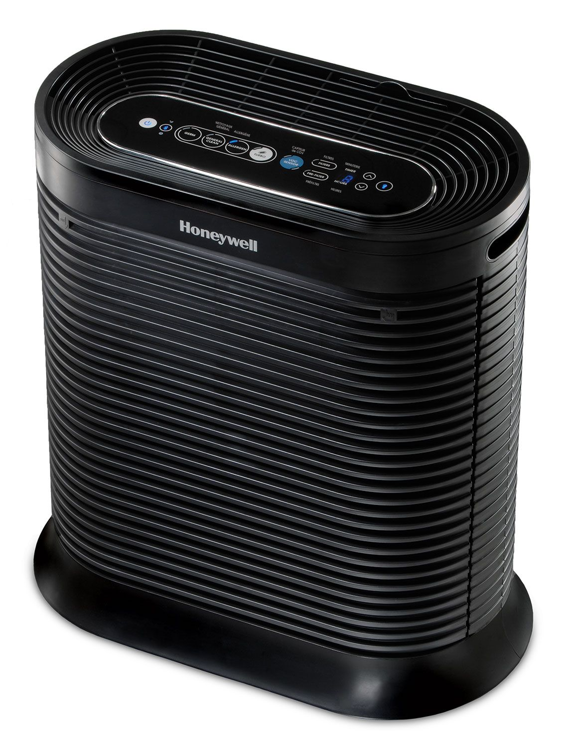 Honeywell Bluetooth Smart True Hepa Allergen Remover Reduces Up To 99 9 Of Certain Viruses Bacteria And Mold Hpa250b Black Walmart Com In 2020 Hepa Air Purifier Hepa Honeywell Air Purifier