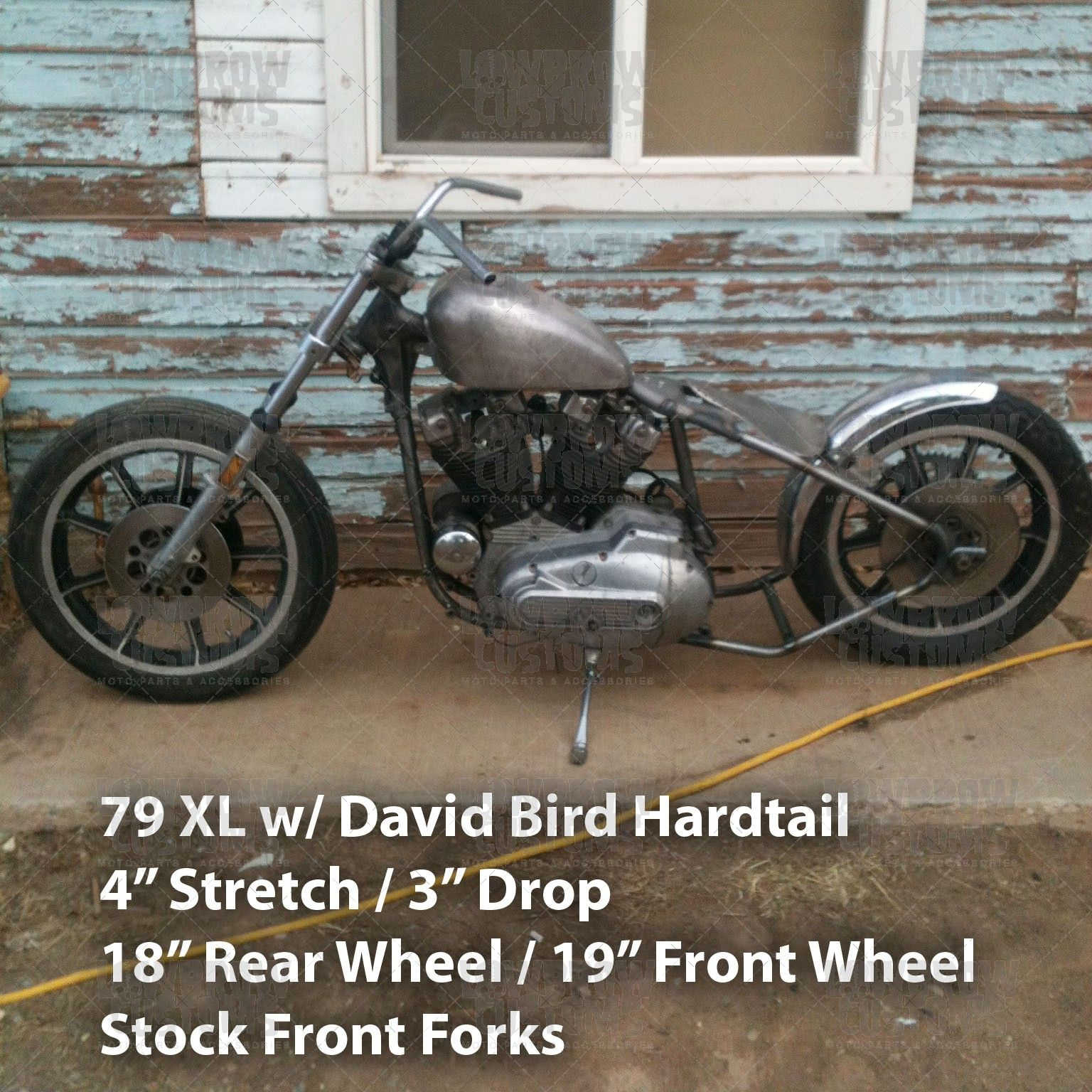 ironhead simplified wiring diagram for kick the sportster sportster 1979 1981 bolt on hardtail frame by david bird