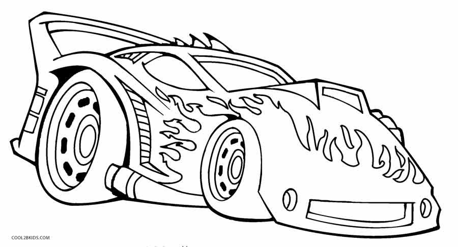 hot wheel coloring pages # 1