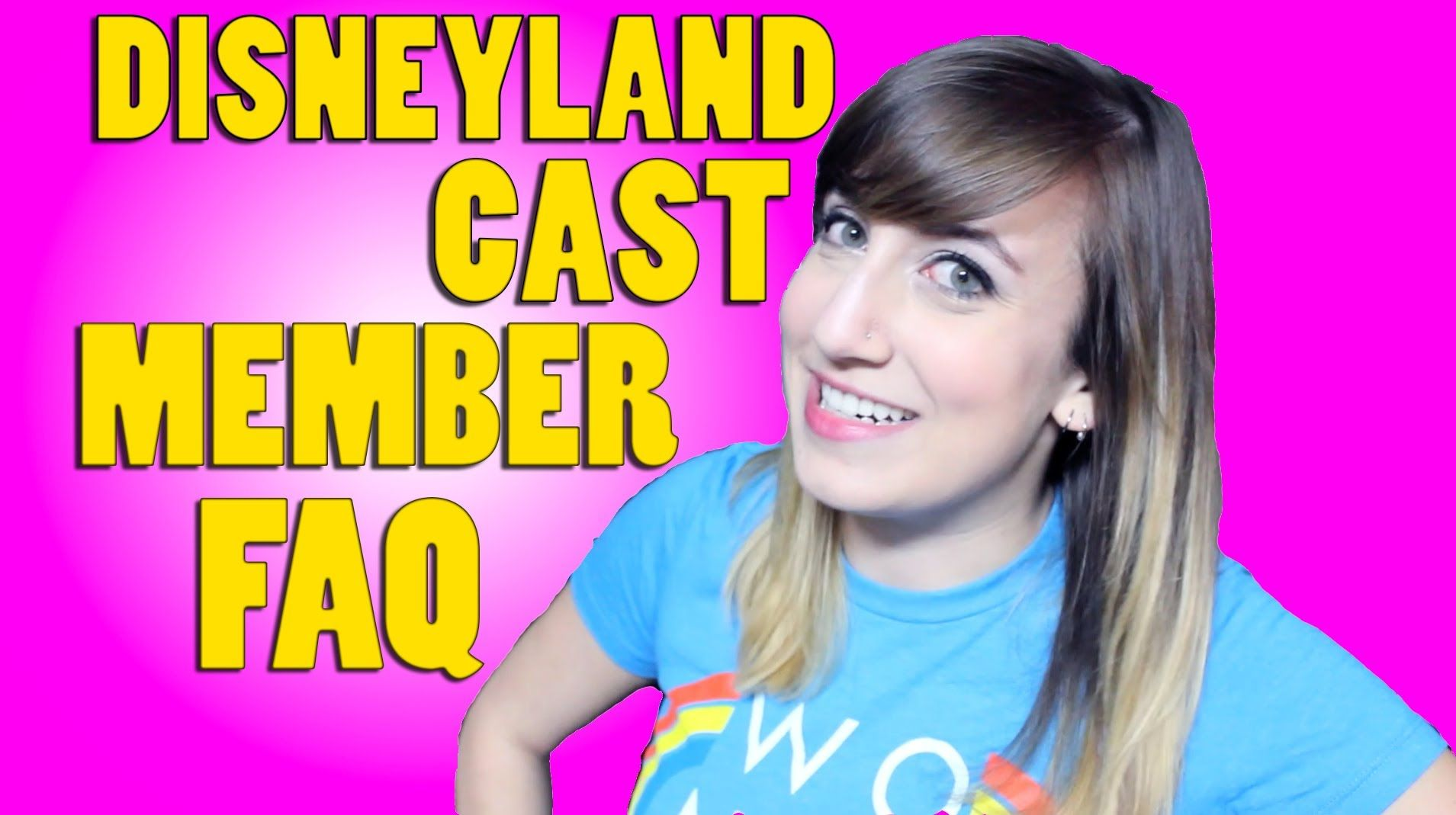 Disneyland Cast Member FAQ Video on demand