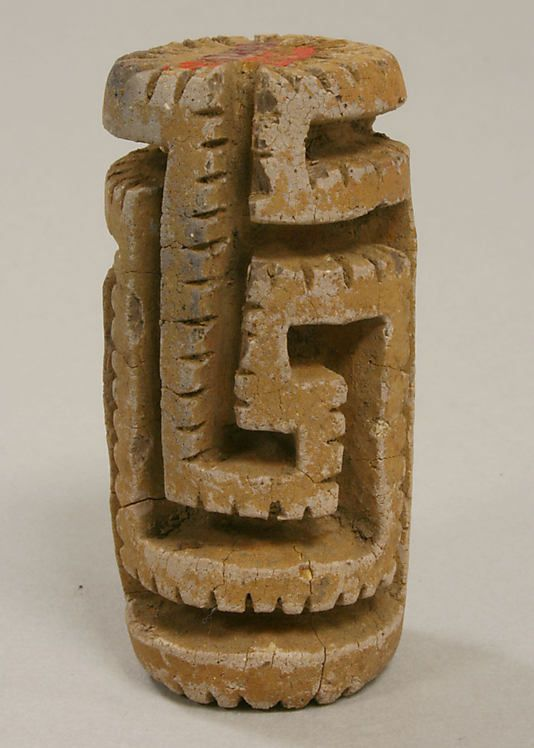 Roller Stamp 5th–6th century Costa Rica Pre-Columbian Central and South America's Artifacts And Ruins Central and South America prior to Hispanic invasion.