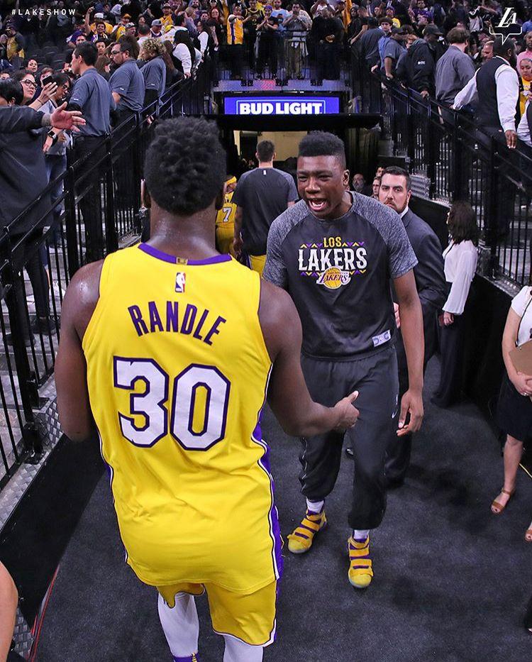 Julius Randle And Thomas Bryant Los Angeles Lakers Julius Randle Nba Teams