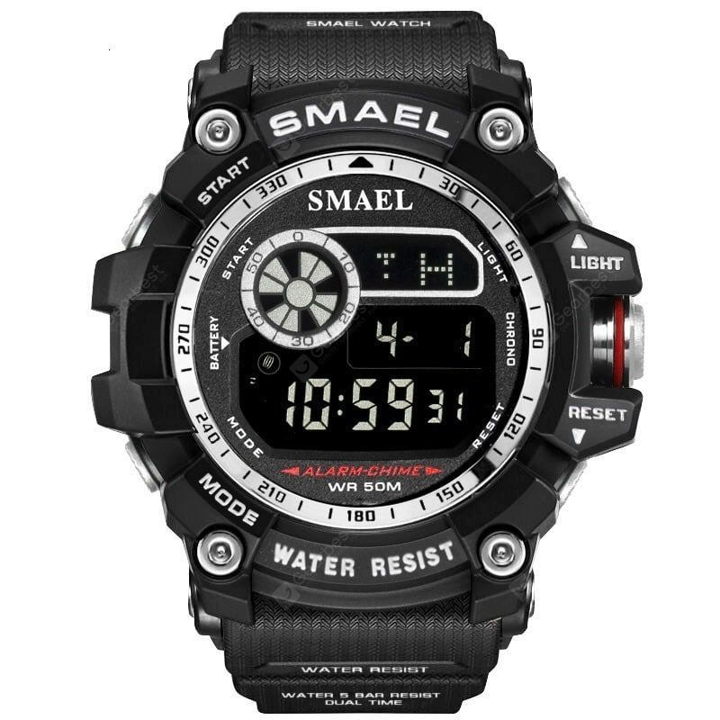 Smael Men Military Army Led Digital Big Dial Sports Outdoor Watches Superdeals Cena 9 99 Ok 37 86 Pl Military Watches Watches For Men Mens Sport Watches