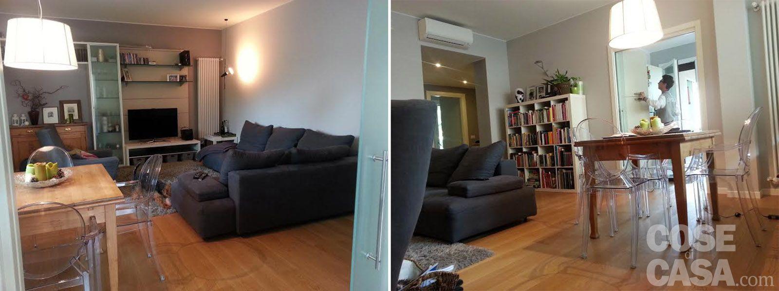 Una casa attualissima, rinnovata contenendo i costi Case