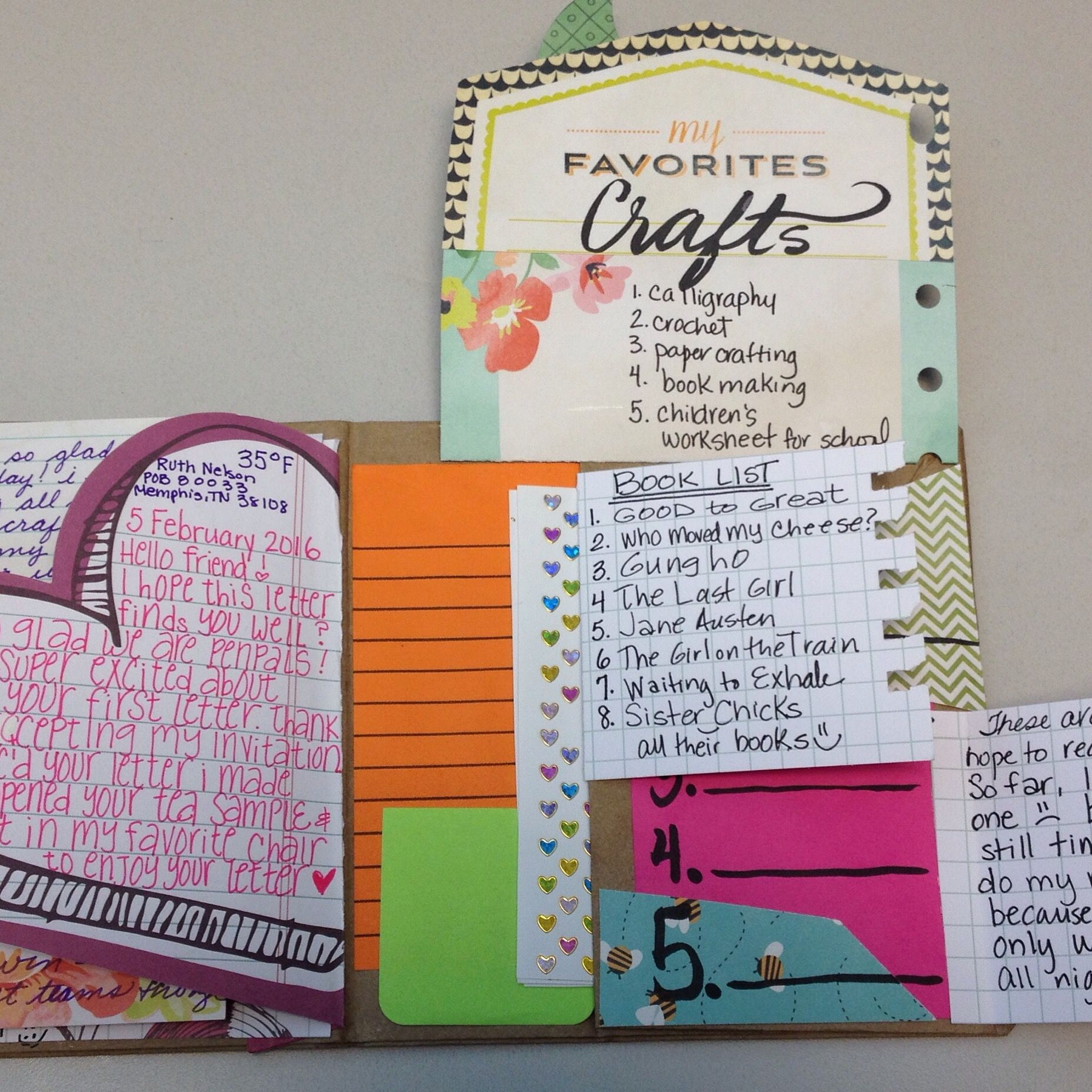 Pin By Lillibet Lugo On Happy Mail Flipbook Pen Pal Letters Snail Mail Pen Pals Book Making