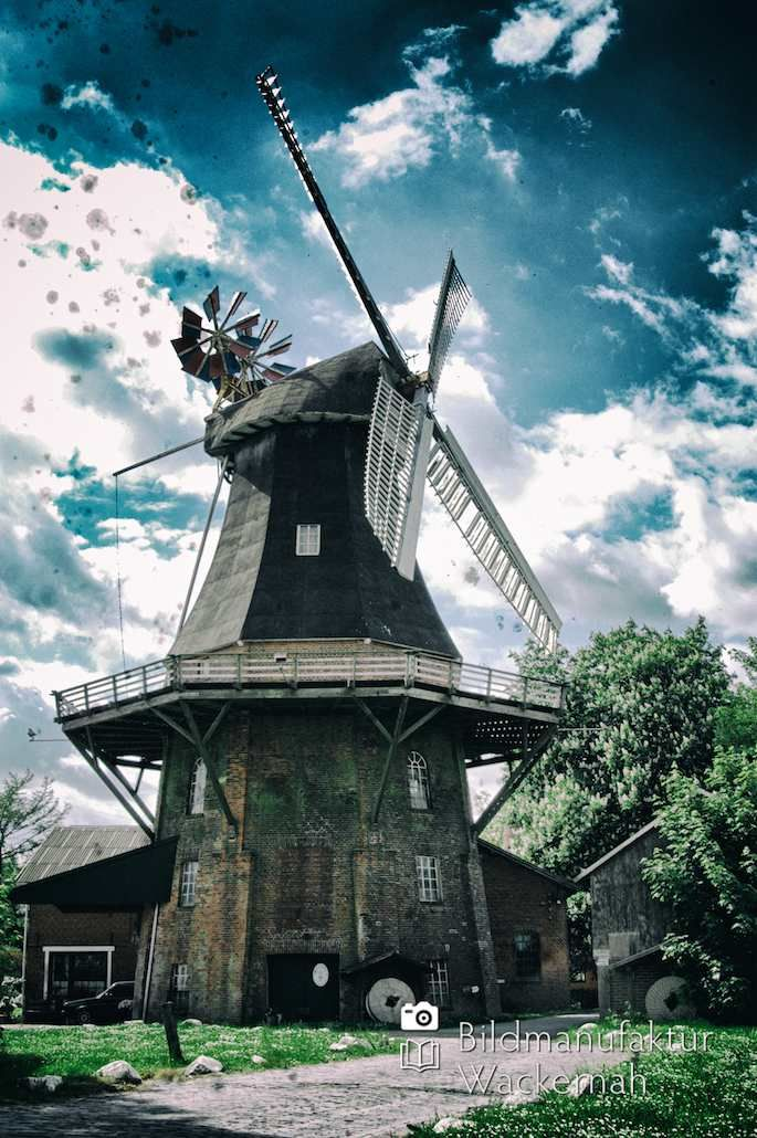 cool Fotografie »Moorseer Mühle – Ostfriesland Numero 27«,  #Landleben