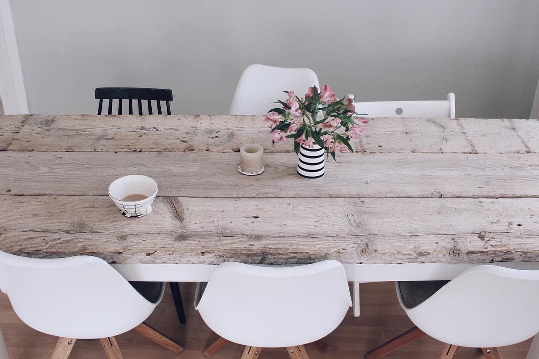 DIY Esstisch selber bauen   Tisch selber bauen, Selber ...