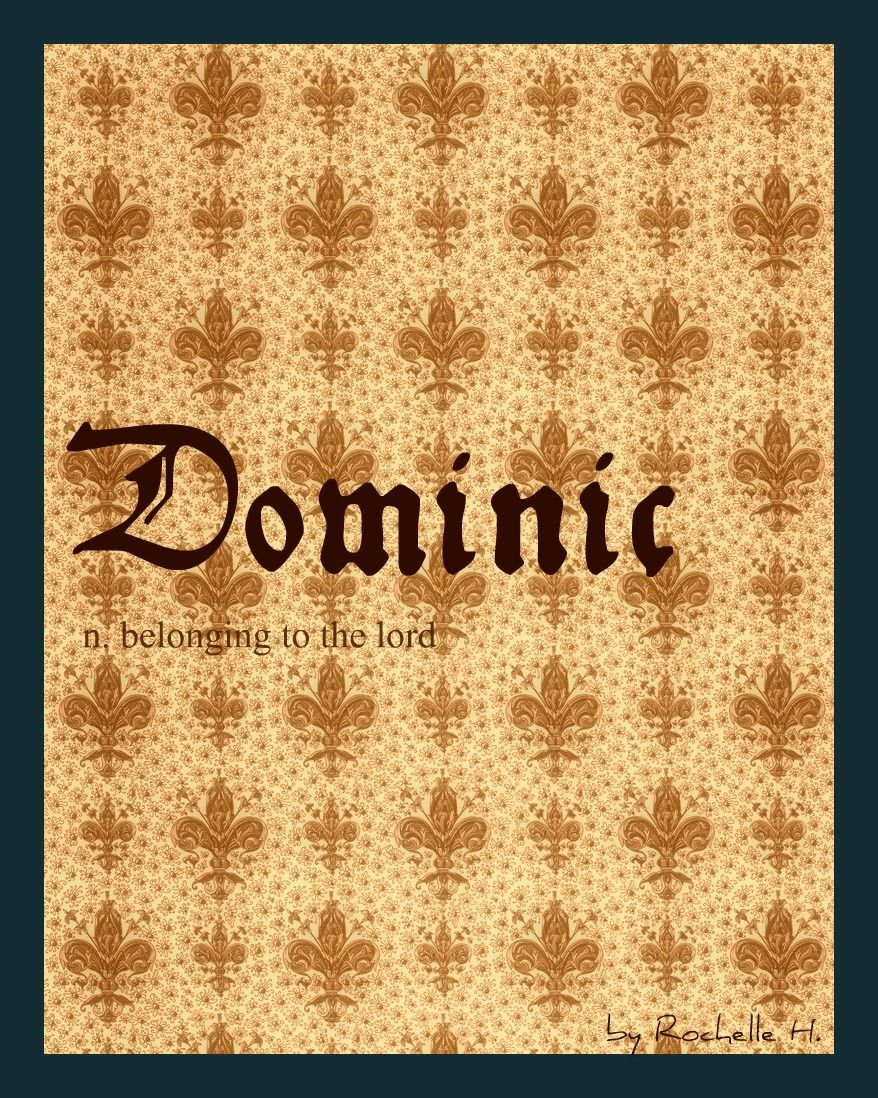 Dominic: meaning of name, origin 4