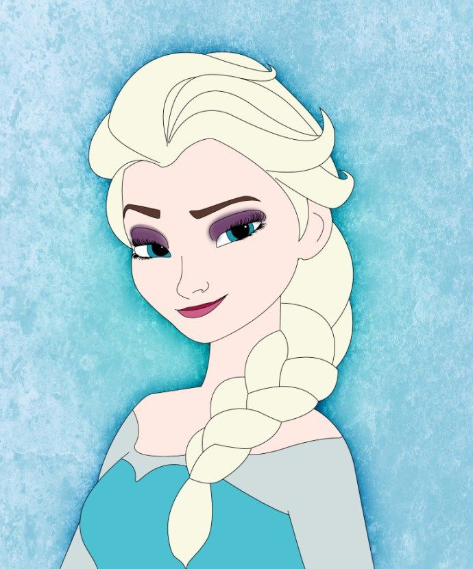 How To Draw Elsa From Frozen Draw Central Princess Drawings Disney Drawings Sketches How To Draw Elsa
