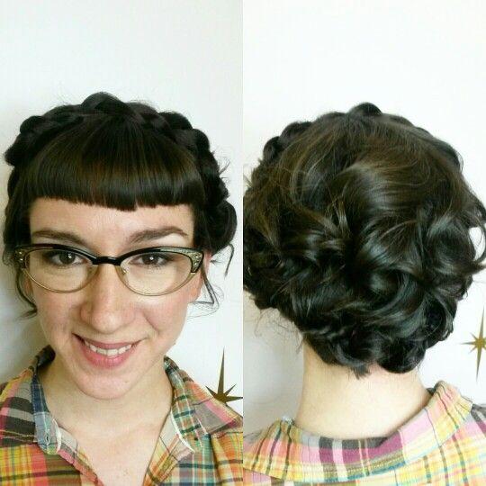 Bridal beauty.  #hairbyapril #winnipeghairstylist #thesapphirehairlounge #weddinghair #braids