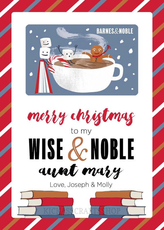 photo about Barnes and Noble Printable Gift Card identified as Barnes Noble Bookstore Reward Card Tag - Printable Instructor