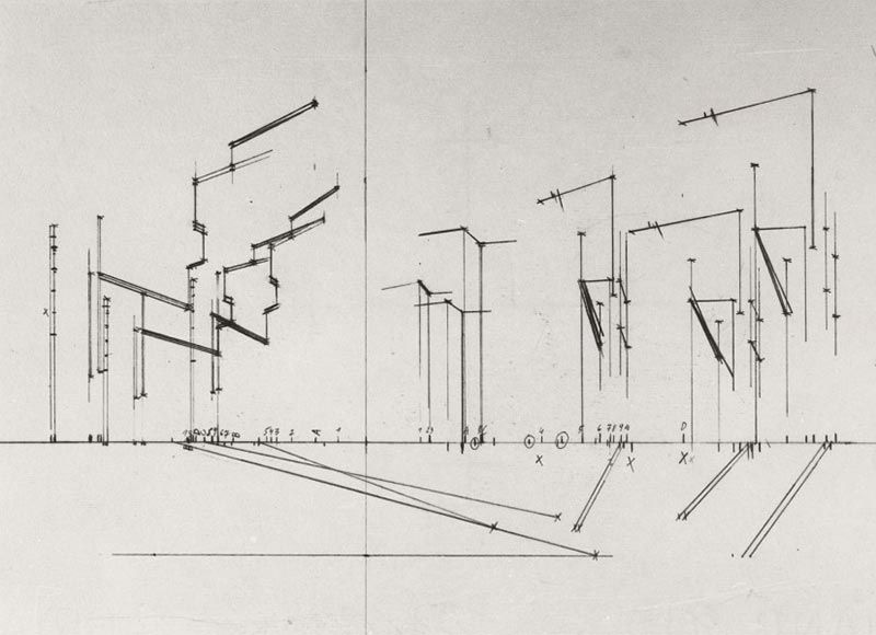 Torvaianica By Josef Dabernig 1982 83 Cool Sketches Torvaianica Architectural Sketch