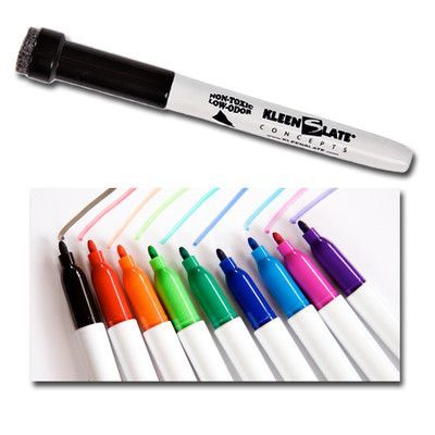 Kleenslate Concepts Llc Student Markers With Erasers Dry Erase Markers Dry Erase Erasers